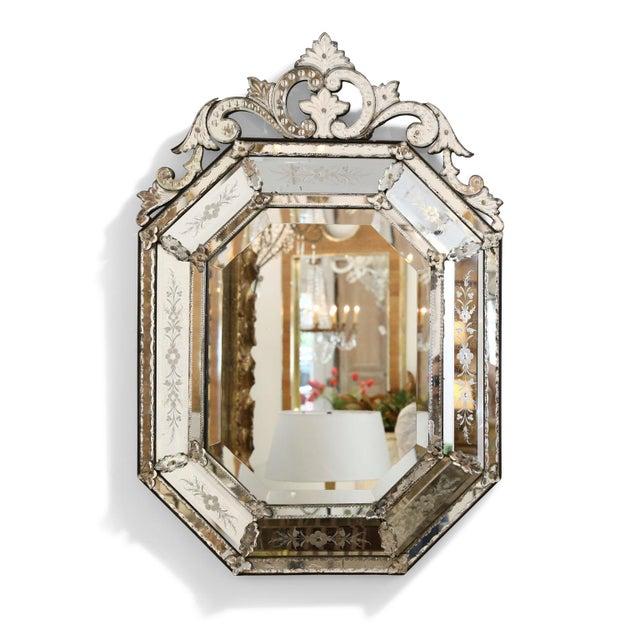 Octagonal Venetian Mirror For Sale - Image 12 of 12