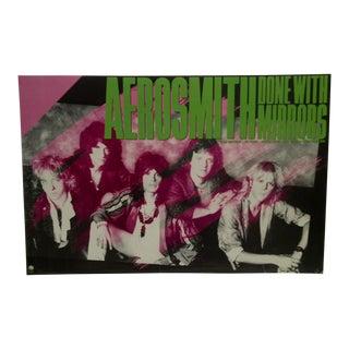 "Aerosmith ""Done With Mirrors"" 1986 Album Poster"