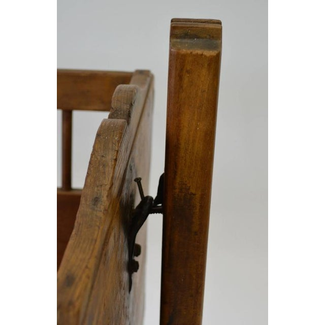 Pine Rocking Cradle For Sale In Washington DC - Image 6 of 7