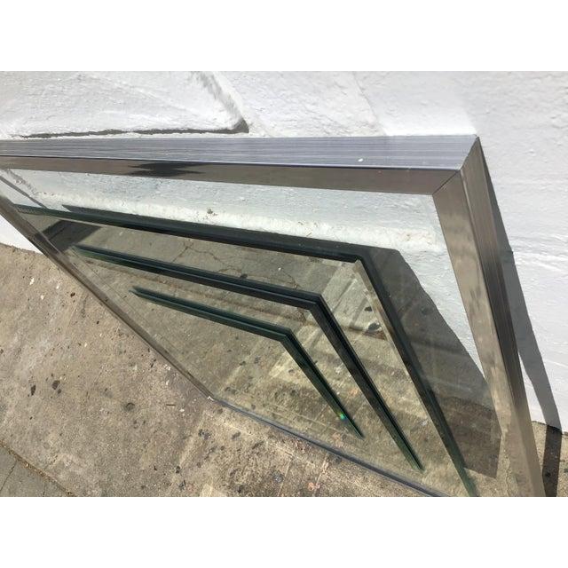 1980s 1980s Vintage 3D Framed Mirror For Sale - Image 5 of 11