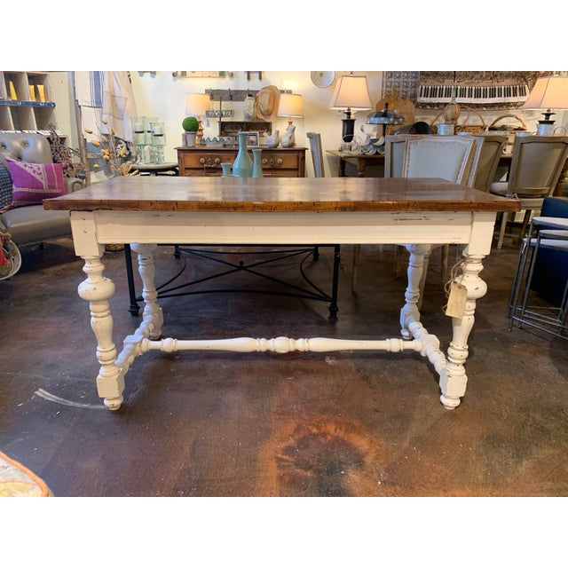 1910s French Farm Table For Sale - Image 9 of 13