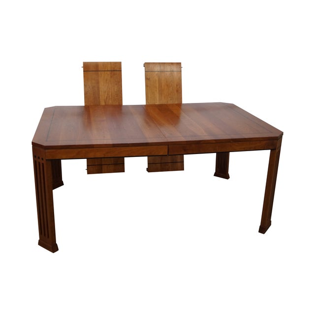 Stickley 21st Century Arts & Crafts Dining Table - Image 1 of 10