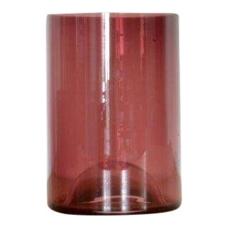 Klaar Prims 'Upsdwn' Small Vase - Dark Violet For Sale