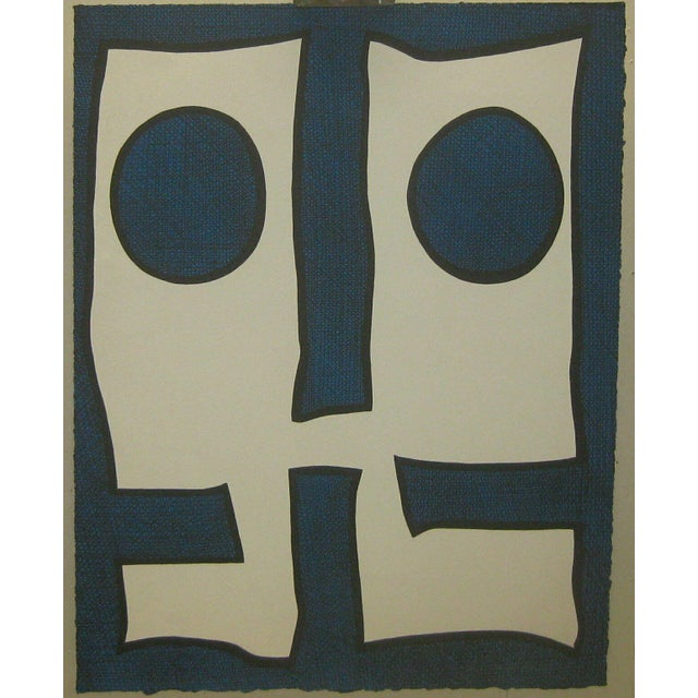 1967 Abstract Silkscreen by Michael Knigin For Sale - Image 12 of 12