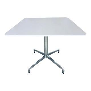 "Mid-Century Modern Eoos Keilhauser White ""Juxta"" Side Table For Sale"