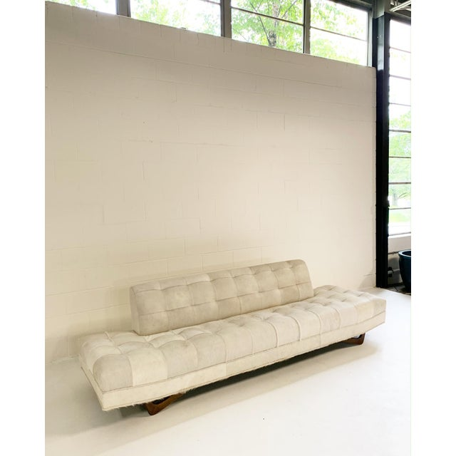 Mid 20th Century Adrian Pearsall Sofa in Brazilian Cowhide For Sale - Image 5 of 13