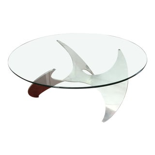 Vintage Knut Hesterberg Propeller Coffee Table For Sale