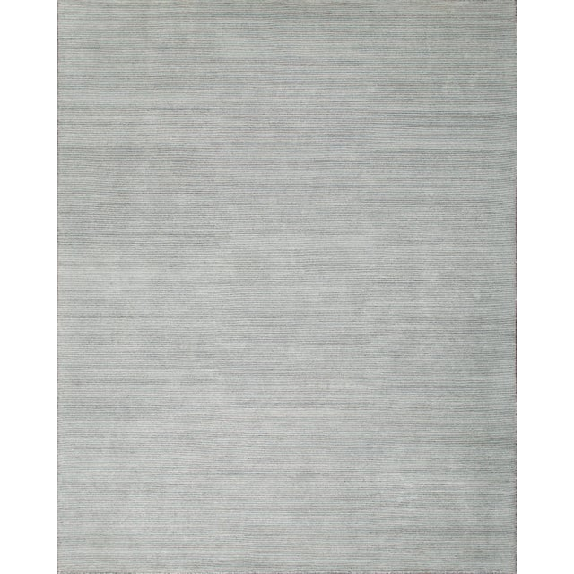 2010s Stark Studio Rugs Contemporary Oriental Bamboo Silk and Wool Rug - 8' X 10' For Sale - Image 5 of 5