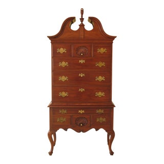 Henkel Harris Philadelphia Cherry 3 Piece Highboy For Sale