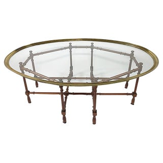 Hollywood Regency Baker Coffee Table For Sale
