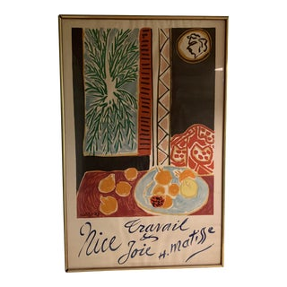 1947 Original Matisse Mourlot Poster For Sale