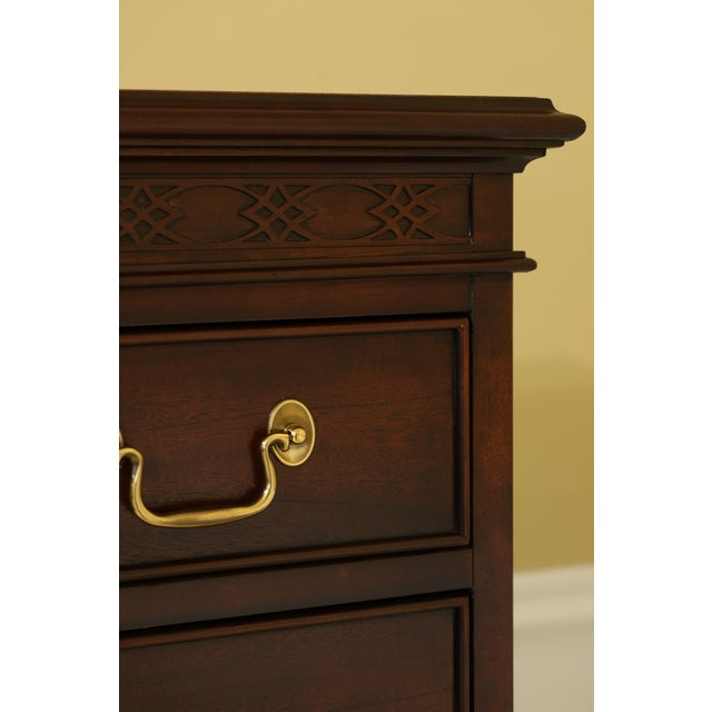 Approx: 15 Years Old Details: Bracket Feet Dovetailed Drawer Construction Quality Construction 18 C. Design Chippendale...