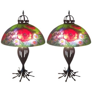 Ulla Darni Signed Table Lamps - A Pair For Sale