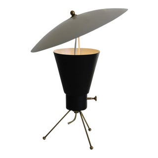 1950's Mid-Century Atomic Tripod Lamp For Sale