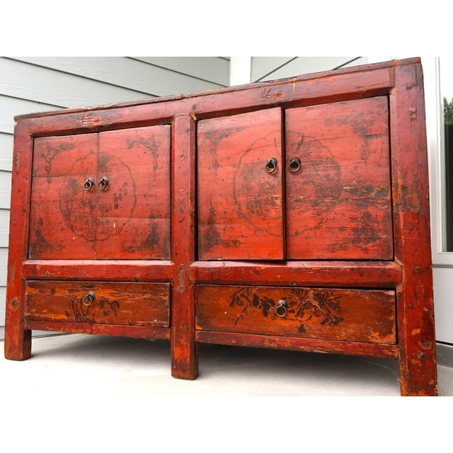 Asian Gansu Sideboard Cabinet - Image 3 of 11