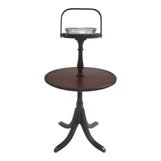 Antique Duncan Phype Style Smoking Stand Side Table From Furguson Brothers For Sale