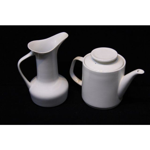 Paul McCobb Mid-Century Coffee Pot & Pitcher - A Pair - Image 2 of 5