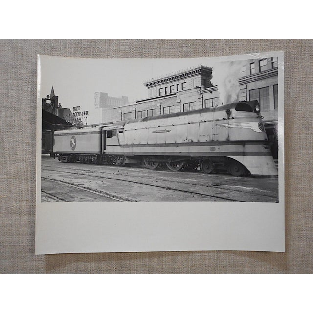 Vintage Railroad Locomotive Photo - Image 2 of 3