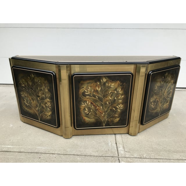"""Mastercraft """"Tree of Life"""" Cabinet by Bernhard Rohne For Sale - Image 12 of 12"""