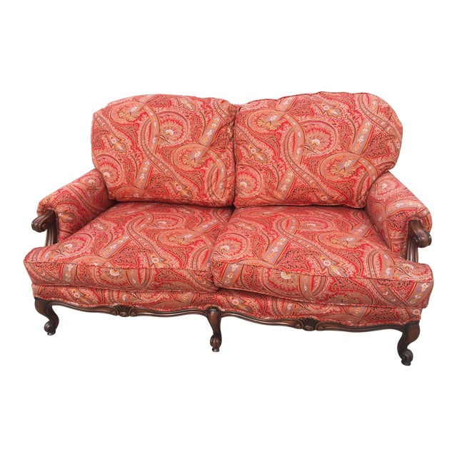 Modern French Style Loveseat For Sale