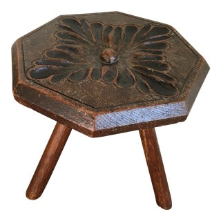 Vintage English Country Stool