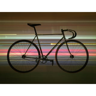 """""""Bicycle"""" Contemporary Abstract Still Life Photographic Color Print For Sale"""