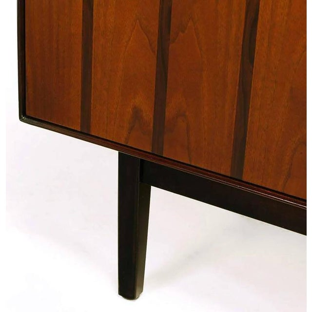 Rosewood and Walnut Parquetry Front Credenza - Image 5 of 8