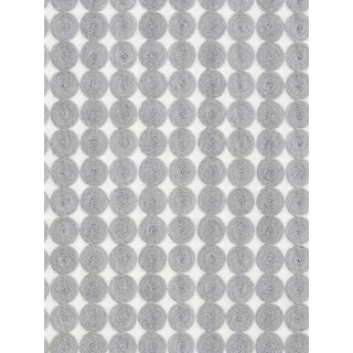 Sample, Scalamandre Labriz, Mist Fabric For Sale