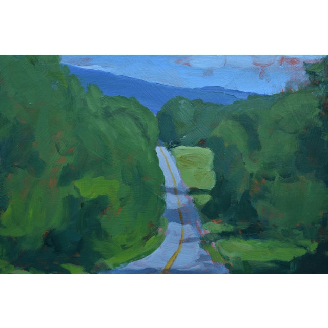 """Figurative """"Back Road in Vermont"""" Painting by Stephen Remick For Sale - Image 3 of 11"""