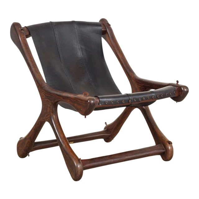 Mid Century Mexican Modern Don Shoemaker Sling Chair For Sale