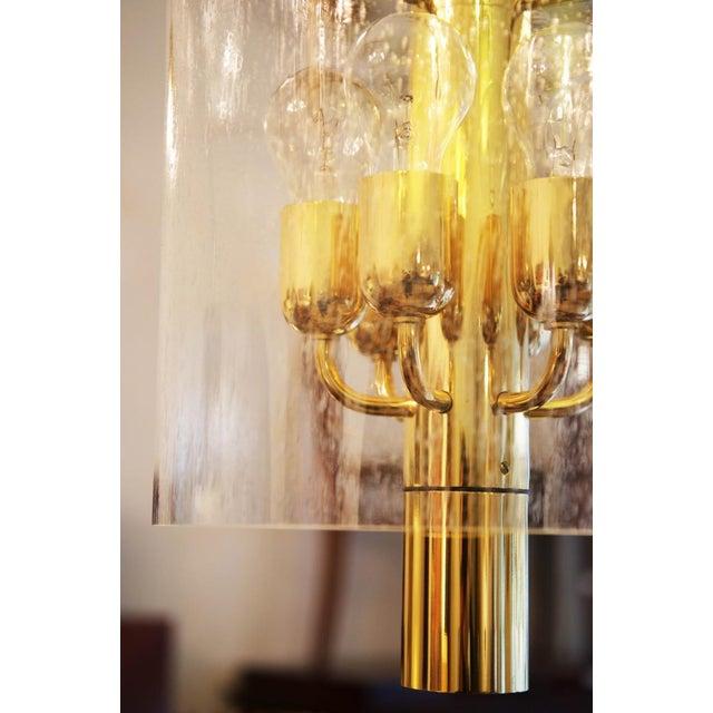 Glashütte Limburg Model 4298 hanging lamp from Glashütte Limburg For Sale - Image 4 of 11