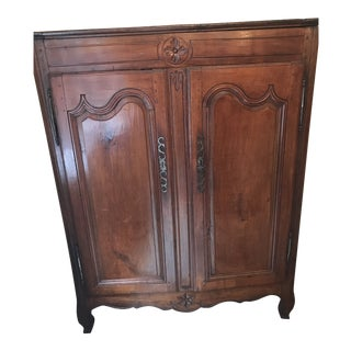 French Provincial Armoire For Sale