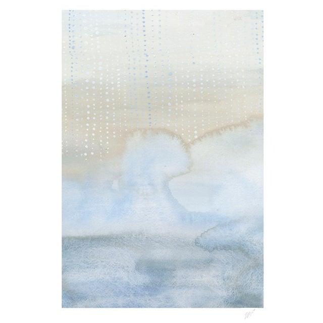 """Shorelines VI - Watercolor Print - 16"""" X 20"""" - Image 3 of 4"""