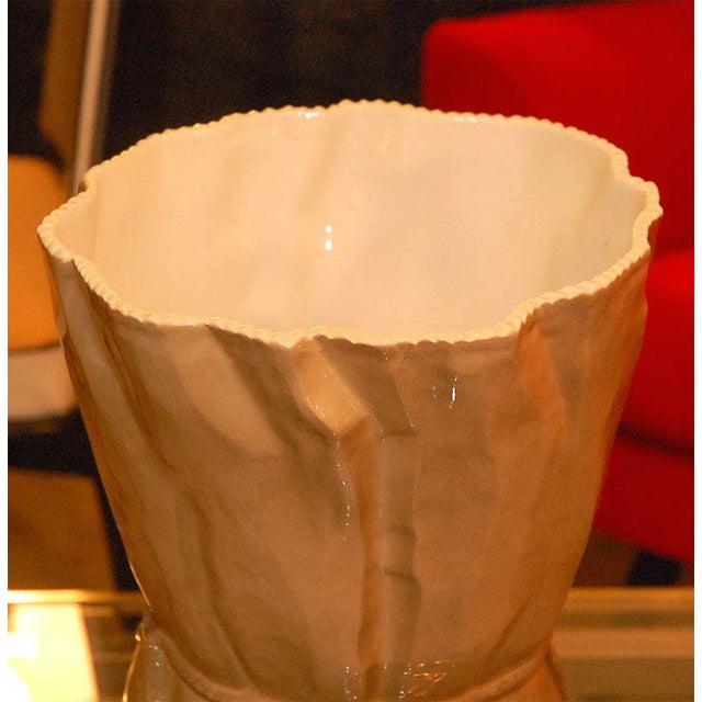 Ceramic Italian Ceramic Vase For Sale - Image 7 of 9