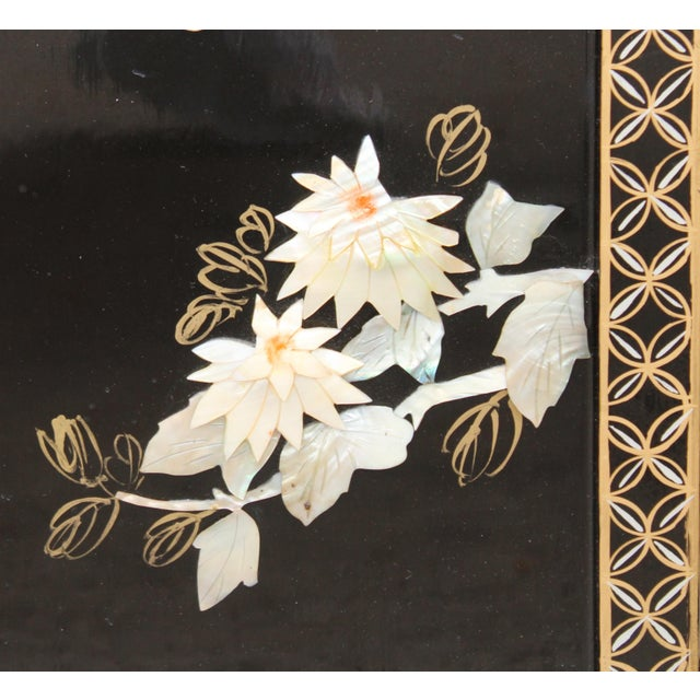 Asian Wall Panels Depicting Chinese Performers or Geishas For Sale - Image 11 of 13