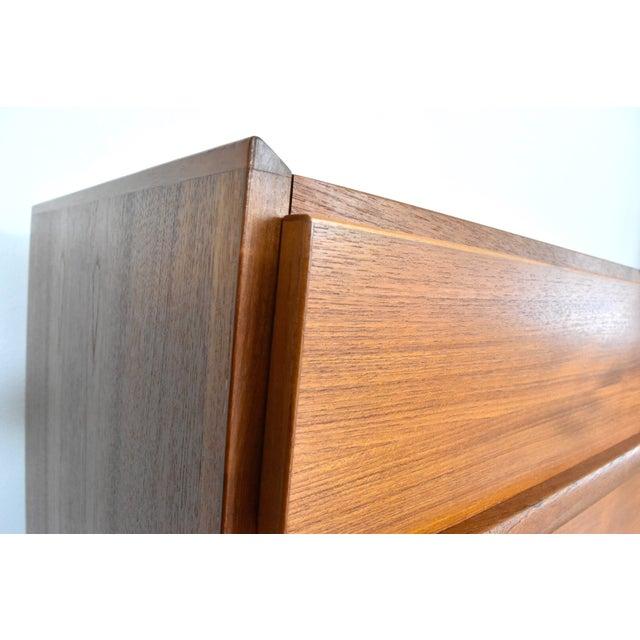 Vintage Danish Modern Teak Lowboy Dresser - Image 4 of 8