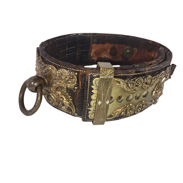 Late 19th Century 19th Century Dog Collar For Sale - Image 5 of 11