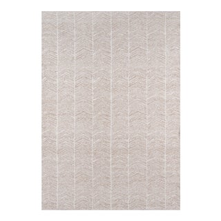 "Erin Gates by Momeni Easton Congress Brown Indoor/Outdoor Hand Woven Area Rug - 3'6"" X 5'6"" For Sale"