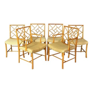 Chippendale Cockpen Dining Chairs - Set of 6