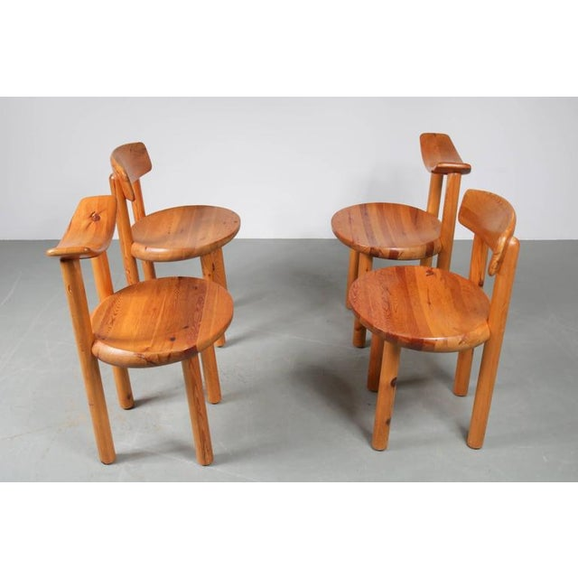 Set of Four Dining Chairs by Rainer Daumiller for Hirtshals Sawmill, Denmark - Image 3 of 8