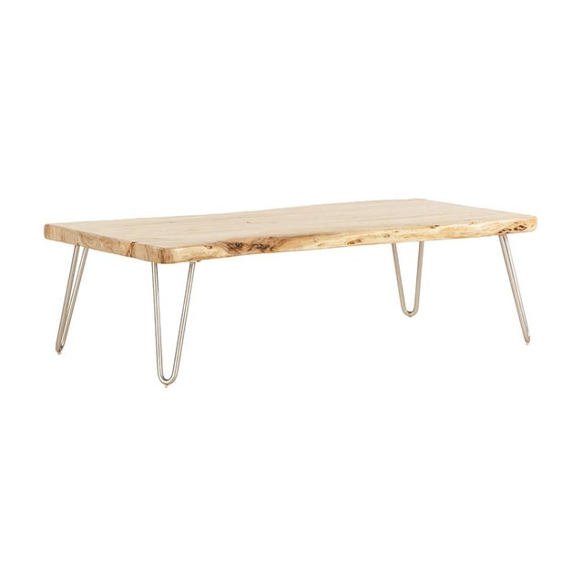 Grandby Acacia Live Edge Coffee Table - Image 1 of 5