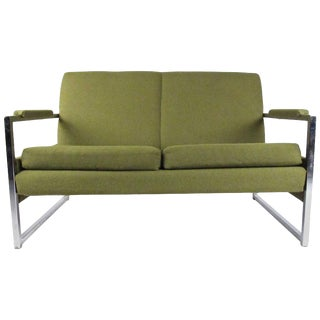 Mid-Century Modern Two-Seat Sofa For Sale