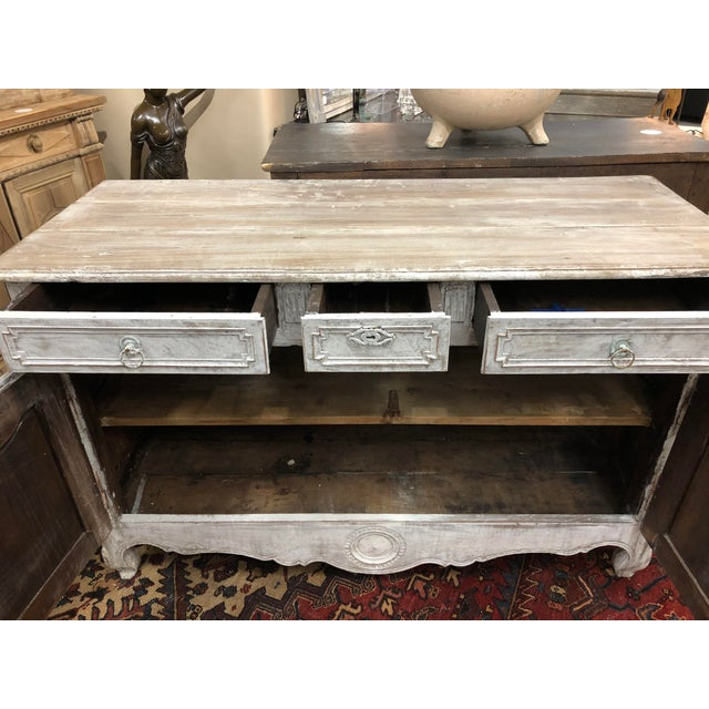 Early 19th Century Early 19th Century French Washed Buffet For Sale - Image 5 of 9