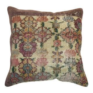 Weathered Turkish Rug Pillow