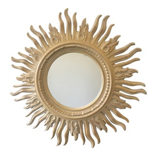 Tony Duquette-Style Sunburst Mirror For Sale