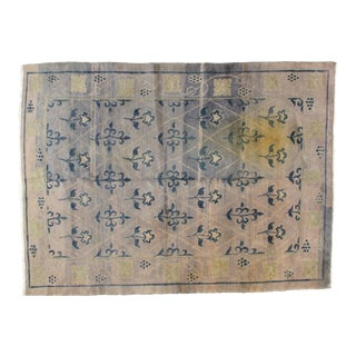 "Leon Banilivi Foral Nepalese Rug - 5'7"" X 7'8"" For Sale"