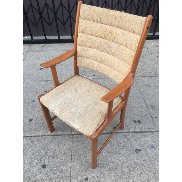 Danish Modern Teak Dining Chairs - Set of 6 - Image 4 of 11