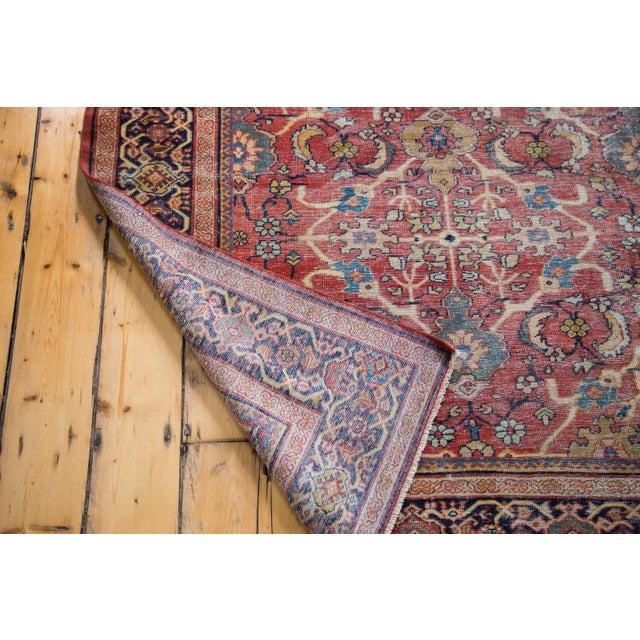 "Antique Persian Mahal Carpet - 7'1"" x 10'1"" - Image 9 of 9"