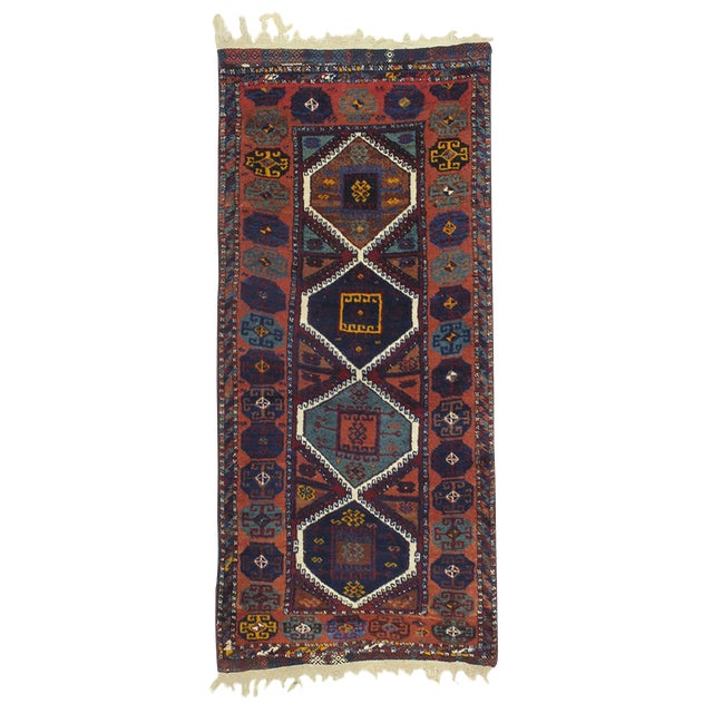 Antique Kurdish Rug For Sale