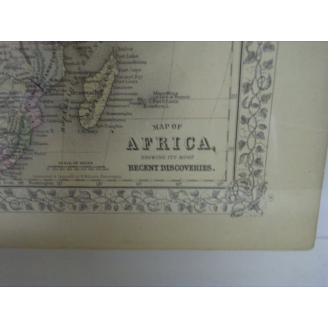 Vintage 1860 Original Map of Africa For Sale - Image 5 of 8
